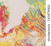 vintage background with marbled ... | Shutterstock . vector #142879003
