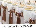decorated chairs | Shutterstock . vector #142880647