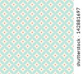 retro geometric seamless pattern | Shutterstock . vector #142881697