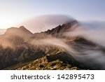 Mountain Scenery With Clouds...