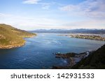 knysna heads. looking from east ... | Shutterstock . vector #142931533