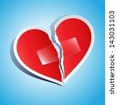 vector illustration of a torn... | Shutterstock .eps vector #143031103