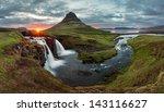 Iceland Landscape Spring...