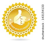 quality product | Shutterstock .eps vector #143154133