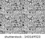 seamless internet network... | Shutterstock .eps vector #143169523