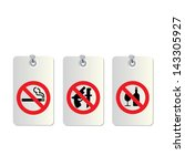 set of no allowed symbols