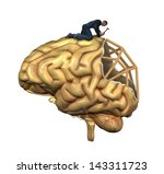 a worker is in the process of...   Shutterstock . vector #143311723