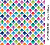 seamless pattern from color... | Shutterstock .eps vector #143348623