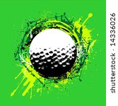 golf vector | Shutterstock .eps vector #14336026
