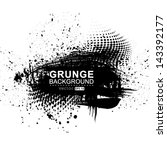 vector grunge background. | Shutterstock .eps vector #143392177