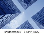 buildings abstract | Shutterstock . vector #143447827