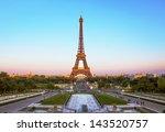 eiffel tower   paris | Shutterstock . vector #143520757