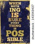 vintage typography vector... | Shutterstock .eps vector #143543437