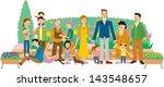 gardening | Shutterstock . vector #143548657