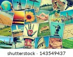mosaic with pictures of... | Shutterstock . vector #143549437