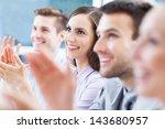 business team applauding | Shutterstock . vector #143680957