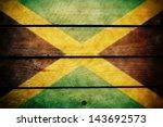 Jamaica Flag Wood