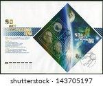russia   circa 2007  a stamp... | Shutterstock . vector #143705197