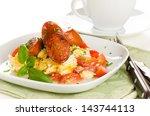 Breakfast Of Scrambled Eggs...