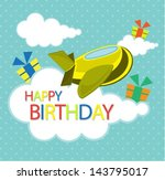 birthday card | Shutterstock .eps vector #143795017