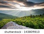 Blue Ridge Mountain Sunset...