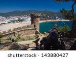 medieval cannon defending the... | Shutterstock . vector #143880427