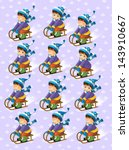 the christmas exercise   book... | Shutterstock . vector #143910667