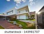 big modern house | Shutterstock . vector #143981707