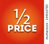 caption large white letters on... | Shutterstock .eps vector #144010783