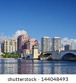 Skyline Of West Palm Beach ...