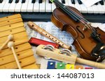 musical instruments for... | Shutterstock . vector #144087013