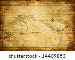 ancient map | Shutterstock . vector #14409853