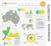 detail infographic vector... | Shutterstock .eps vector #144129073