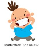 big,big smile,blue,boy,cartoon,cartoon boy,cartoon character,cartoon kid,cartoon smile,character,child,clean,clip art,clipart,crazy