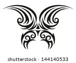 butterfly decorative... | Shutterstock . vector #144140533