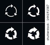 4 arrow sign reload  refresh ...