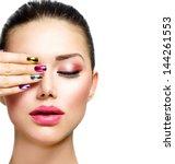 Fashion Beauty. Manicure And...