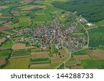 aerial view of the town of... | Shutterstock . vector #144288733