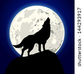 animal,background,black,blue,cartoon,circle,concept,coyote,dark,darkness,dog,fear,full,halloween,horizon