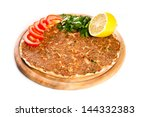 Turkish Specialty Pizza With...