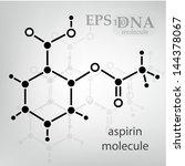 dna molecule structure... | Shutterstock .eps vector #144378067