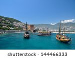 alanya  turkey       june 10 ... | Shutterstock . vector #144466333