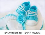 baptism cake | Shutterstock . vector #144470203