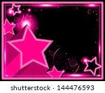 neon starburst background  ...   Shutterstock . vector #144476593