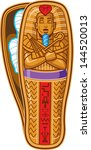 ancient egyptian pharaoh's... | Shutterstock .eps vector #144520013