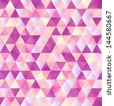 Vector Abstract Pink Triangles...