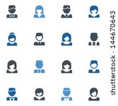people icons | Shutterstock .eps vector #144670643