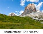 dolomites mountais   italy ...   Shutterstock . vector #144706597