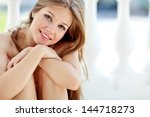 portrait of young smiling... | Shutterstock . vector #144718273