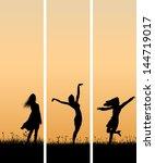 vector of vertical banners of... | Shutterstock .eps vector #144719017